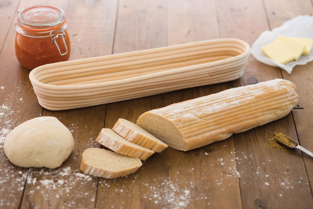 Bread Proving Basket - Baguette
