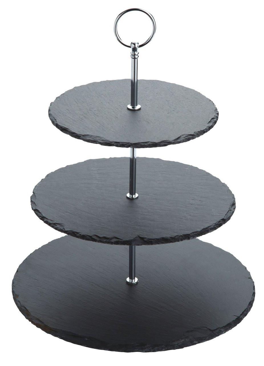SLATE 3 TIER CAKE STAND (ARTESA)