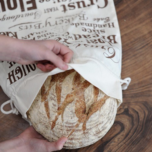 Cotton Bread Bag, 40x50cm