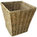 Seagrass Square Waste Paper Basket