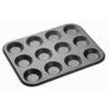 Master Class Non-Stick Twelve Hole shallow Baking Pan