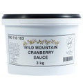 Wild Mountain Cranberry Sauce 3kg