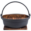 Cast Iron Cooking Pot With Lid & Trivet