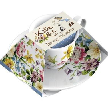 Katie Alice English Garden Tea Cup And Saucer
