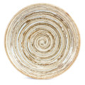 Concentric Rings Plate - Cream