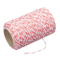 Butcher's Red & White Twine 60cm