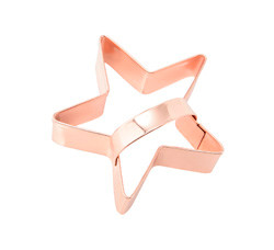 Vintage Copper Cookie Cutter Star