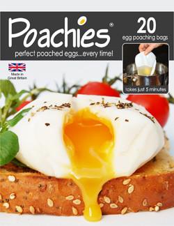 Poachies Egg Poaching Bags x20
