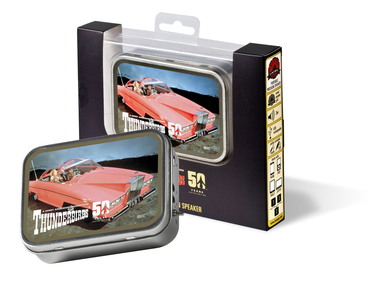 Tinamps Retro Speaker - Thunderbird FAB1 Limited Edition