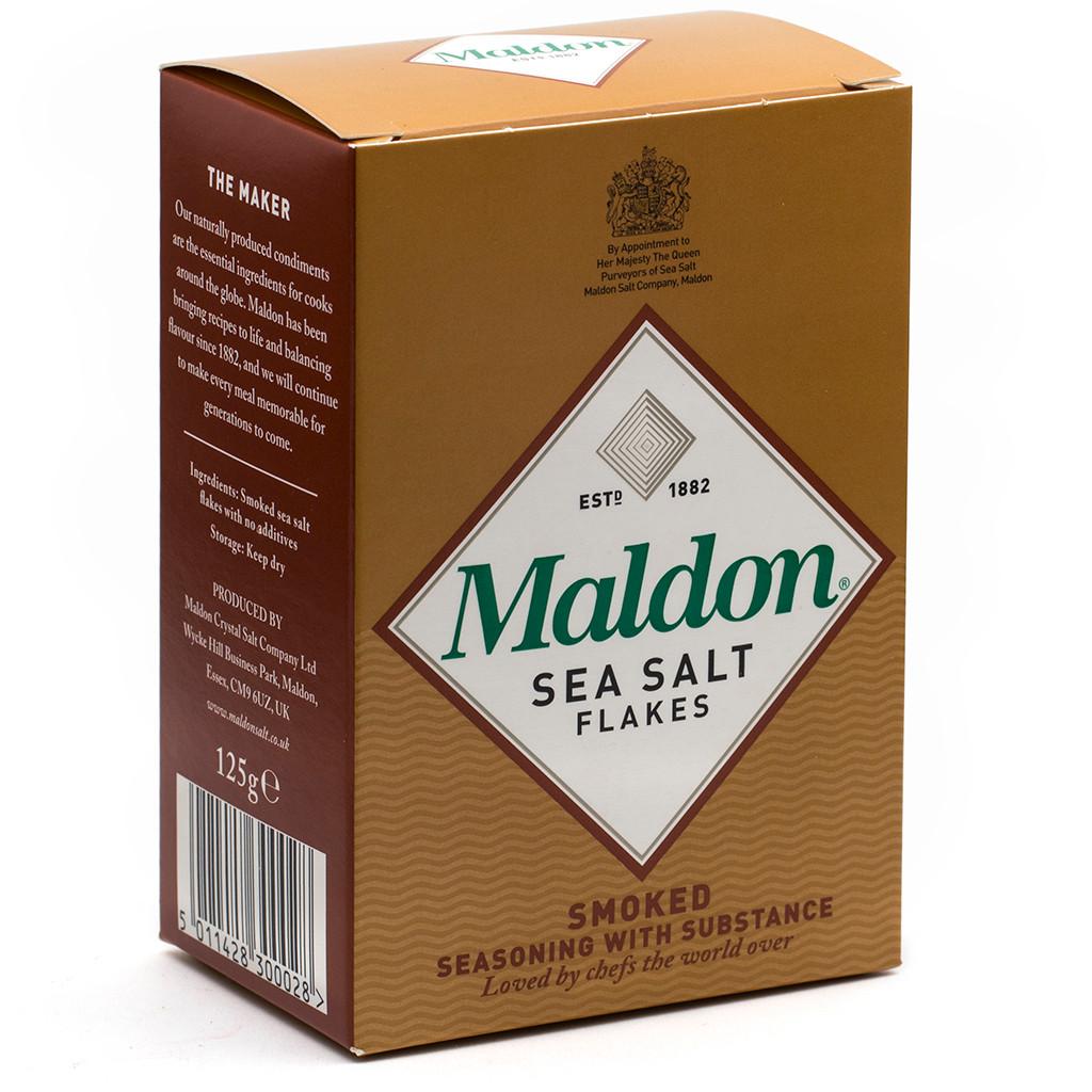 Salt Maldon Sea Smoked 125g