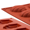 Silicone Mould - Madeleine x 15's