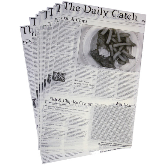 Greaseproof Sheets x 500 - Daily Catch