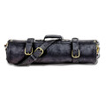 Chefi Leather Knife Roll - Jazzy (black)