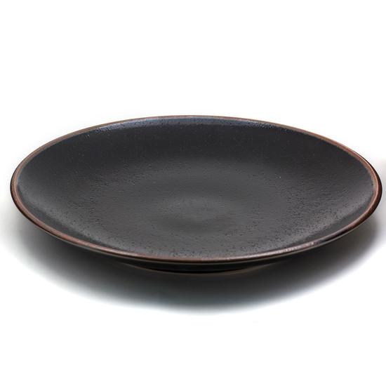 Black Yuzu Plate