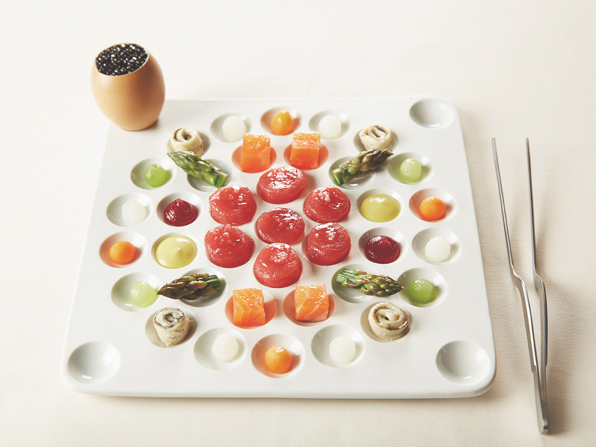 Porcelain Apiari Big Tasting Tray