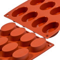 Silicon Mould - Oval x 16's