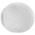 Tree Ring Porcelain Plate 24cm