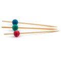 Skewers - Ball Coloured 100 x 110mm