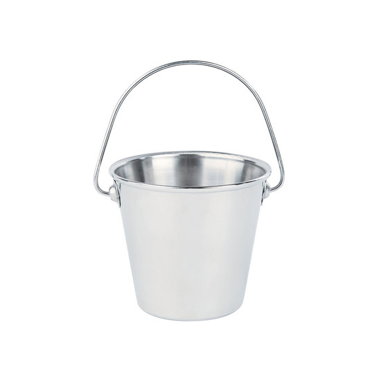 Mini Stainless Steel Pail 20cl