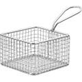 Mini Presentation Square Fryer Basket 9.5 x 9.5 x 6cm