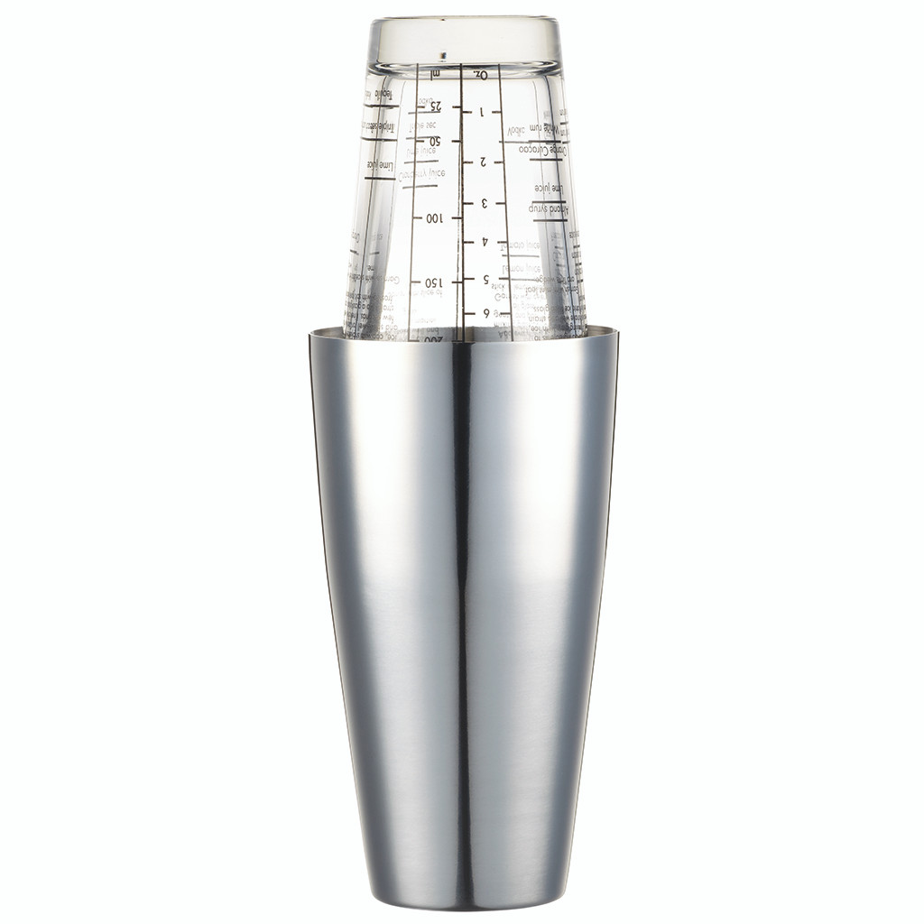 Cocktail Shaker Traditional Boston - 400ml