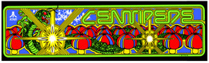 Centipede upright Video Arcade Marquee