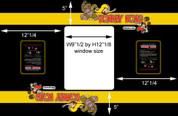 Donkey Kong Cocktail Bezel Underlay Nintendo