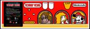 Donkey Kong Control Panel Overlay