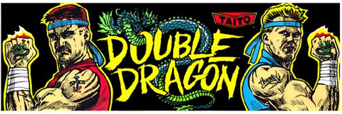 Double Dragon Video Arcade Marquee