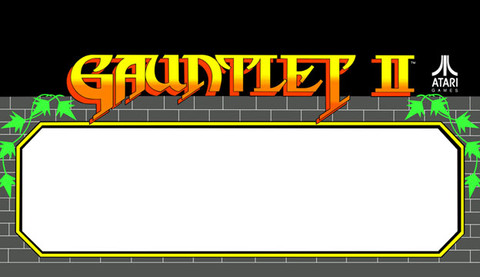 Gauntlet 2 Video Arcade Marquee Speaker grill