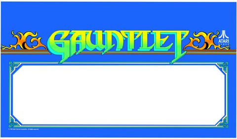 Gauntlet Video Arcade Marquee Speaker grill