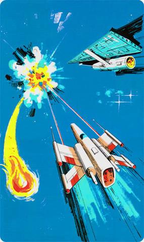 Gorf Video Arcade Side Art