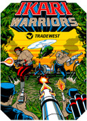 Ikari Warriors Video Arcade Side Art