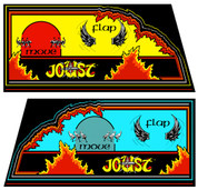 Joust Cocktail Control Panel Overlay