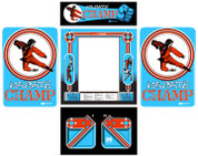 Karate Champ 5 piece graphic restore kit