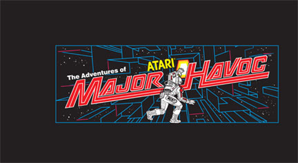 Major Havoc Video Arcade Marquee
