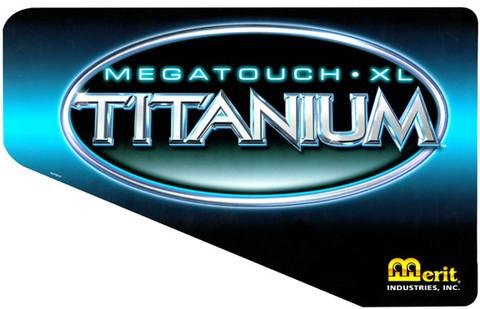 MEGATOUCH XL Titanium Side Art set