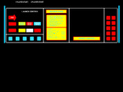 Missile Command Control Panel Overlay