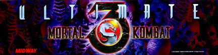 Mortal Kombat 3 Video Arcade Marquee