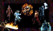 Mortal Kombat custom Control Panel Overlay