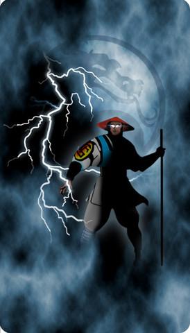 Mortal Kombat Raiden custom Video Arcade Side Art