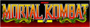 Mortal Kombat Video Arcade Marquee