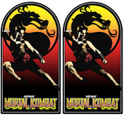 Mortal Kombat Video Arcade Side Art