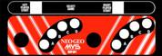 NEO GEO MVS MINI Control Panel Overlay