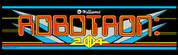 Robotron Video Arcade Marquee