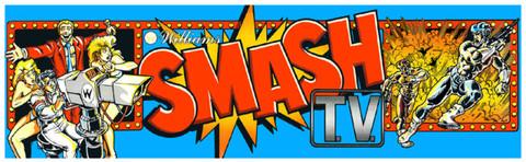 Smash TV Video Arcade Marquee