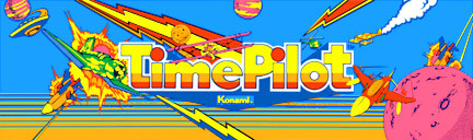 Time Pilot Video Arcade Marquee