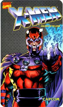 X-MEN Video Arcade Side Art