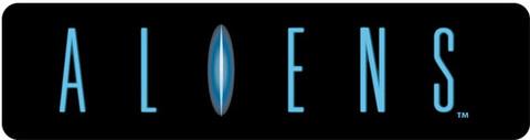 Aliens Konami Custom Video Arcade Side Art Logo set