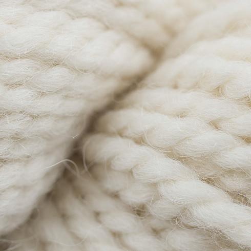 Creme Fraiche - Bulky 100% Creamy White Alpaca Yarn